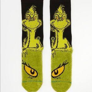 Stance Underwear & Socks - Stance The Grinch Crew Height Sock